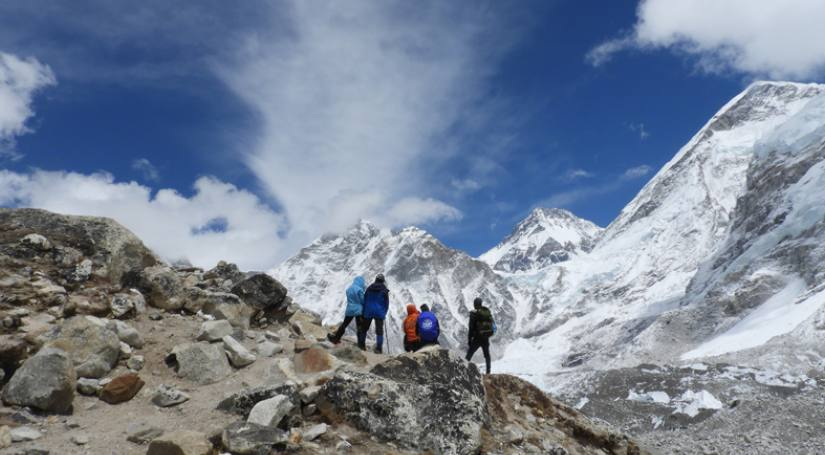 Chola Pass Trek via everest base camp trek