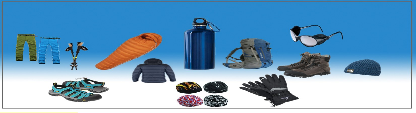 Nepal Trekking Equipment Lists